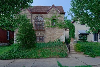 St Louis MO Single Family Home For Sale: $125,000