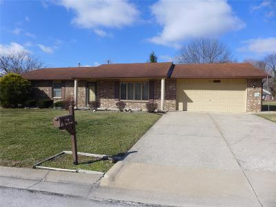 Hannibal MO Single Family Home For Sale: $134,000