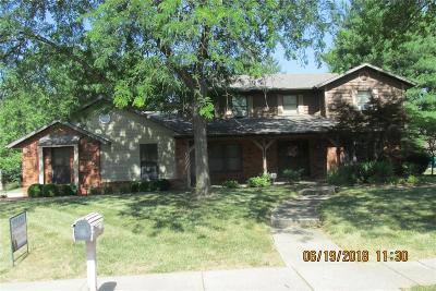 Single Family Home For Sale: 1101 Woodleaf Drive