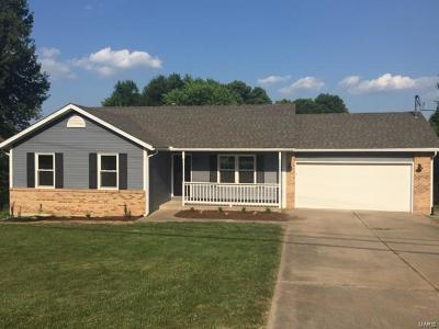Glen Carbon Single Family Home For Sale: 127 North Main