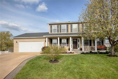 Wentzville MO Single Family Home For Sale: $219,900