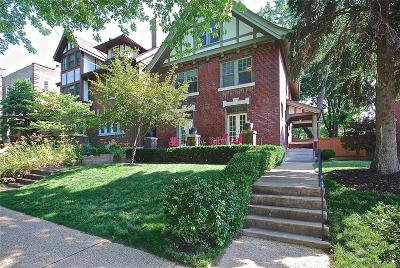 St Louis Single Family Home For Sale: 4353 McPherson Avenue