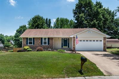 St Charles County Single Family Home For Sale: 3 Divot Court