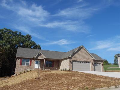 Gray Summit, Villa Ridge Single Family Home For Sale: 157 Rainbow Lake Drive