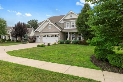 O'Fallon Single Family Home For Sale: 44 Quail Hollow Court