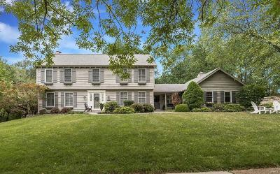 St Louis Single Family Home For Sale: 1609 Mason Valley Road