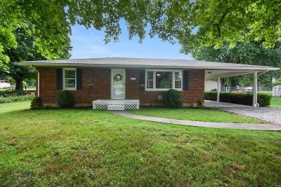 Collinsville Single Family Home Contingent No Kickout: 1312 Eileen