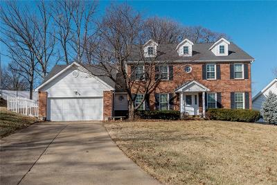 Ballwin Single Family Home For Sale: 161 Hickory Tree Court