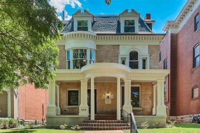 St Louis Single Family Home For Sale: 4370 McPherson Avenue