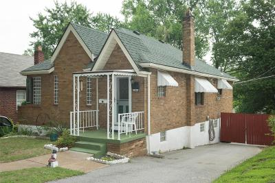 St Louis Single Family Home For Sale: 3020 Capehart