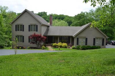 Clarkson Valley Single Family Home For Sale: 1737 Horseshoe Ridge Road