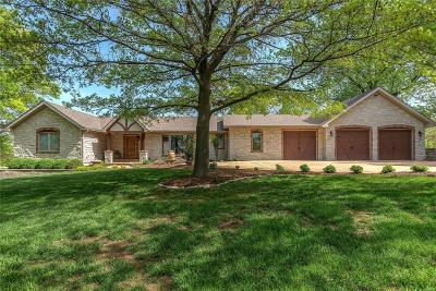 Ballwin Single Family Home For Sale: 1527 Carman Road