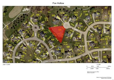 Edwardsville Residential Lots & Land For Sale: 4 Fox Hollow Court