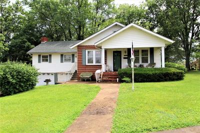 Bonne Terre Single Family Home Contingent No Kickout: 25 St Joseph Street