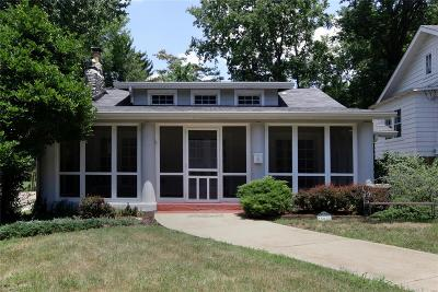 Webster Groves Single Family Home Contingent w/Kickout: 509 Cherry Avenue