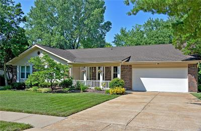 Chesterfield MO Single Family Home For Sale: $349,000