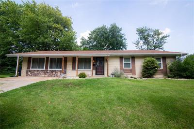 Belleville IL Single Family Home For Sale: $119,900