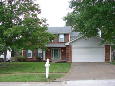 Ballwin Single Family Home For Sale: 810 Clintwoode Court