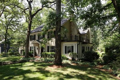 Webster Groves Single Family Home For Sale: 525 South Rock Hill Road