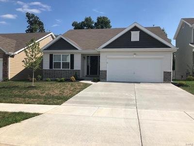 Wentzville Single Family Home For Sale: 458 Peruque Hills Parkway