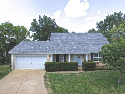 Ballwin Single Family Home For Sale: 717 Village Wood Court