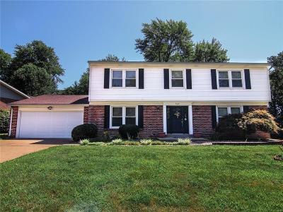 Chesterfield Single Family Home For Sale: 548 Westernmill Drive