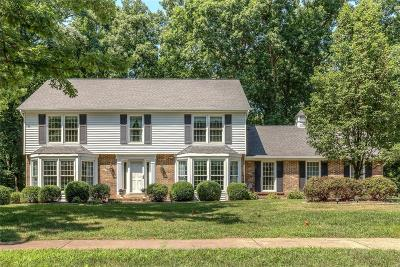 Chesterfield MO Single Family Home For Sale: $545,000