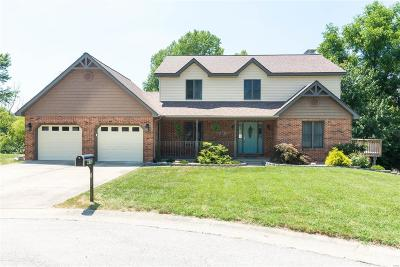 Fairview Heights Single Family Home For Sale: 412 Lake Stratford Circle