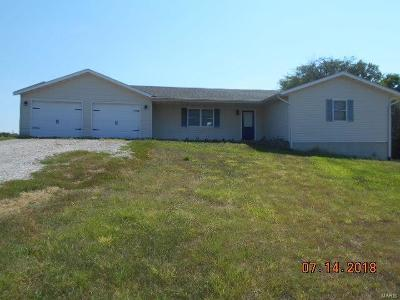 New London MO Single Family Home For Sale: $139,500