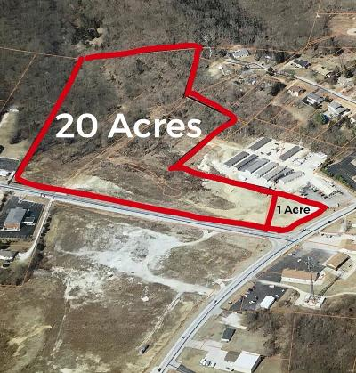 Franklin County, Gasconade County, Jefferson County, Lincoln County, Montgomery County, Pike County, St Charles County, St Louis City County, St Louis County, Warren County Commercial For Sale: 20 Acres Hwy B & Hwy 21