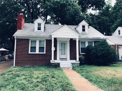 St Louis Single Family Home Contingent No Kickout: 3825 Melba Place