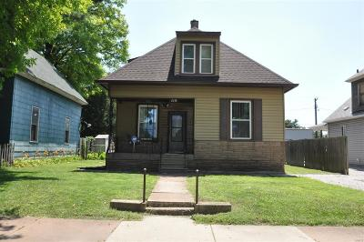 Granite City Single Family Home For Sale: 2418 East 24th Street