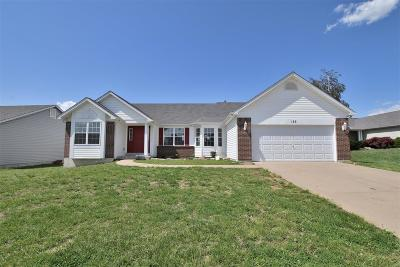Wentzville Single Family Home For Sale: 153 Brookshire Creek Drive