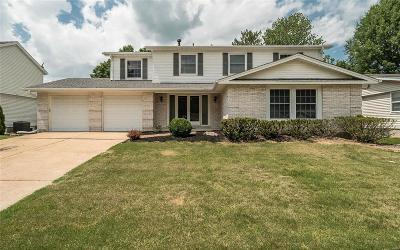 Chesterfield MO Single Family Home For Sale: $349,900