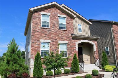 St Louis Condo/Townhouse For Sale: 9704 Wilderness Battle Circle