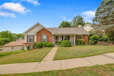 Ballwin Single Family Home For Sale: 715 Oak Hall Lane