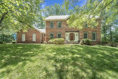 Chesterfield MO Single Family Home For Sale: $599,000