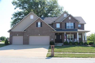 O'Fallon Single Family Home For Sale: 1026 Carnegie Knolls Drive