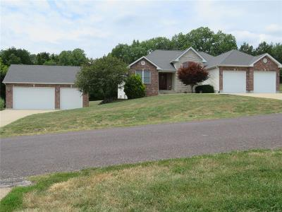 Franklin County Single Family Home For Sale: 607 Rock Creek Drive