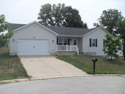 Franklin County Single Family Home For Sale: 704 Gracie Way