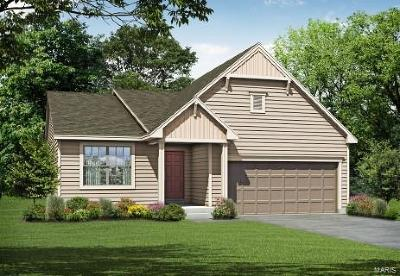 Wentzville MO Single Family Home For Sale: $273,632