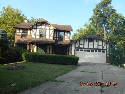 St Charles County Single Family Home Contingent No Kickout: 909 West Woolwick Court