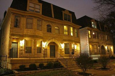 St Louis City County Condo/Townhouse For Sale: 4306 Maryland Avenue #3C