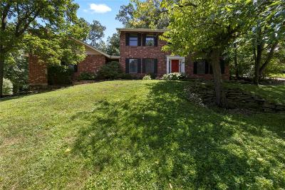 Single Family Home For Sale: 9607 Hidden Valley