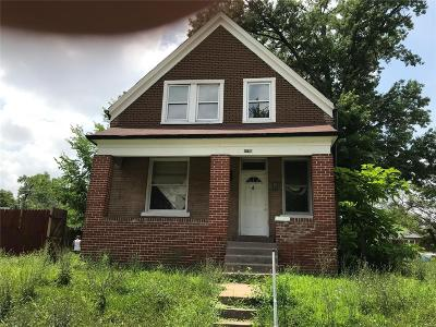 St Louis City County Single Family Home For Sale: 4750 Cupples