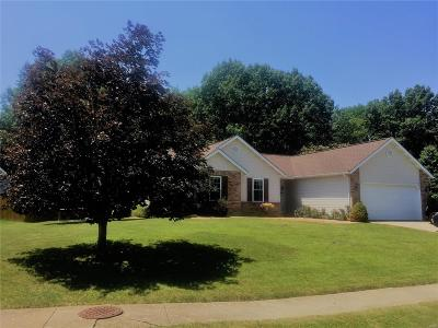 Troy IL Single Family Home For Sale: $213,900