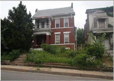 St Louis City County Multi Family Home For Sale: 1332 Shawmut