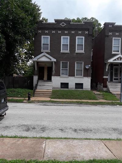 St Louis City County Multi Family Home For Sale: 529 Eiler