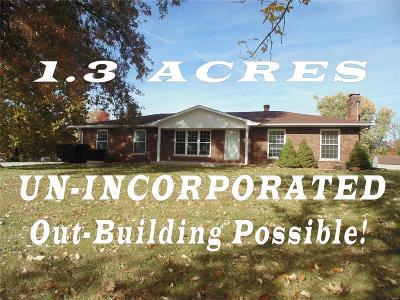 Glen Carbon Single Family Home For Sale: 815 Glen Crossing Road