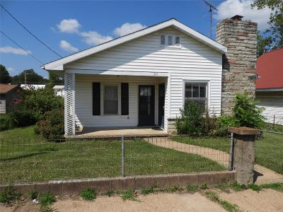 Desloge Single Family Home For Sale: 203 South Jackson Street